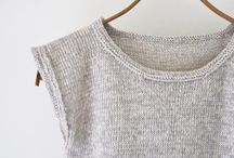 Knitted top.