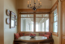 Window Seats And Niches / Window seats and niches featured in homes designed by Designs Northwest Architects