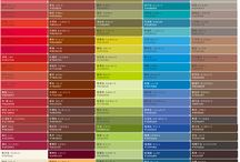 Farben - Colors - Moodboards