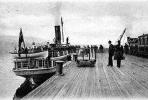 old steamship