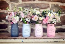 Colour palettes - pastels / by English Wedding Blog
