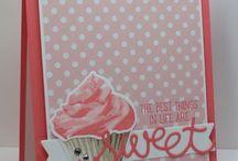 Stampin' Up! Sweet Cupcake / Sweet Cupcake stamp and matching framelits from Stampin' Up!