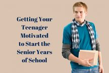 Getting Your Teenager Motivated to Start the Senior Years of School!