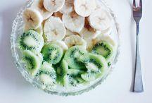 Delicious fruit bowls