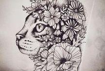 Tattoo - cats