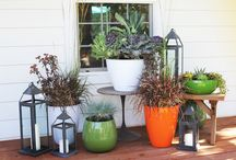 INDIAN METAL PLANTERS / Light as a feather, strong as steel! Our NEW Indian Metal Planters bring a refreshingly modern look to the garden or home.  These pots have it all; they are light-weight, ultra durable, affordable and most styles nest easily.  Available in an array of gorgeous colors in hand-crafted modern shapes, we can't keep our hands off of them!  Each planter is designed with a drainage hole and rubber stopper making them perfect for both indoor or outdoor use. www.allsopgarden.com / by ALLSOP HOME & GARDEN