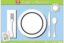 Pinkies Up, Napkins in Your Lap / Products for dining and etiquette
