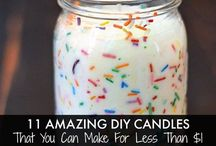 DIY Candles / *the original designs are not mine