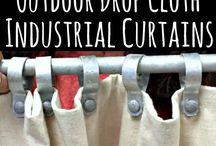Pergola curtains/blinds