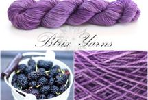 Btrix Yarns_Delighted with Merino / 100% Merino yarns that are hand dyed by indie dyer Beatrix from Btrix Dsigns