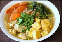 Vietnamese soups...