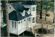 Playhouses, Treehouses