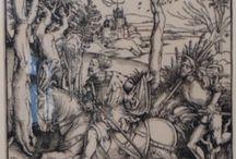 Albrecht Durer, incisioni su legno.Caen, musée de beaux arts. Inizio /debut XVI sec. / Albrecht Durer, incisioni su legno.Caen, musée de beaux arts. Inizio /debut XVI sec.