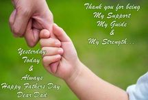 Fathers Day Quotes / We express our gratitude by wishing him with some Happy Father's Day Quotes to warm his heart.  Here is a great collection of Fathers Day Quotes from daughter and son.