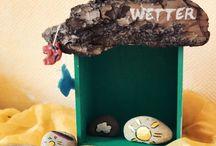 DIY Kinderideen / Allerlei zum Selbermachen für Kinder: Spielzeug, Kinderzimmereinrichtung und mehr. Diese Dinge laden zum Selbermachen ein - und zwar mit Kind! :-)