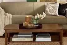 coffee table decor ideas / by Michele Spilman