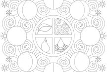 coloring pages / by Susanne Mackenzie