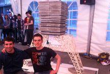 concurso puente palillos ingeniería Bilbao 2014