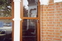 Box Sash Windows / Our hand crafted box sash windows are purpose made at our workshop in Romford which is on the borders of Essex and East London. At I Foster & Sons Ltd we are proud to specialise in custom made timber vertical sliding box sash windows We offer a full replacement service including boxes, architraves and nosing incorporating 24mm low emissive argon gas filled double glazed units with warm edge spacer bar to comply with  current glazing regulations