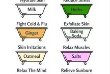 Bath additives to relax