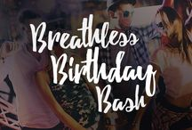 Breathless Birthday Bash / The Breathless Birthday Bash package has everything you and your friends need to party like rock stars including a multi-course dinner, pre-dinner drinks in your room, late night snacks, a beach spot just for your squad and more. Learn more: http://bit.ly/PinBdayBash / by Breathless Resorts & Spas