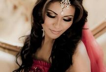 Indian wedding hairstyles / Traditional and modern