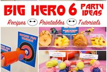 Big Hero 6 Themed Party