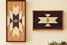 Reclaimed wood wall art / Feature the best reclaimed wood wall art