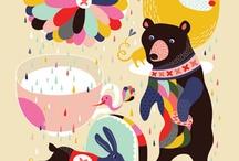 Illustration / Wonderful artful illustration.  / by Carla Gentry