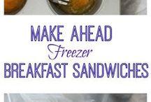 Freezer Breakfast Recipes