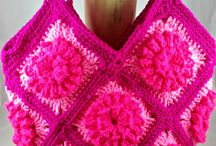 Bags and Purses / Handmade crochet bags, purses, and totes.