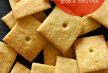 Recipes for bread, crackers, party food  etc