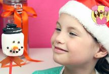 Christmas food for kids - Treats for your party / Cookie pops, crackers etc