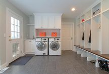 Redstart's Mudroom and Laundry Room Remodels