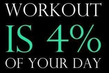 Fitness And Motivation / Get yourself in shape by following some of these workouts or get motivated by these great quotes