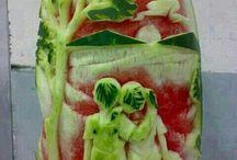Artfood - Arte con la comida / La comida puede ser todo un derroche de arte y creatividad