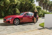 Maserati Range Shooting with Genevieve Morton