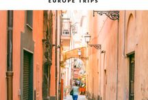 Europe travelling