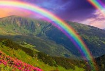 Rainbow / The greater your storm, the brighter your rainbow.