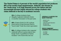 Drug and Alcohol Infographics / Facts, statistics and more about drug and alcohol addiction and recovery. Learn more about drug and alcohol addiction and personal real life stories by visiting Rehab Detox online:  rehabdetoxtreatment.com