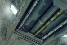 Sci-Fi ceiling