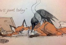 Crow & Fox