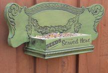 Bird Feeders/Bath/Houses