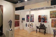 Kyo Noir | What's AfricArt / Galleria d'arte contemporanea africana a Viterbo.  http://whatsafricart.altervista.org/kyo-noir/