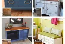 furniture makeovers / by Anna Marie Supan-Britton