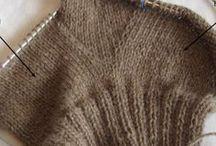Носки,варежки и узоры для них
