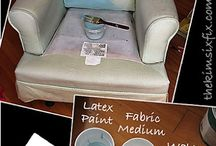 den furniture  painted upholstery