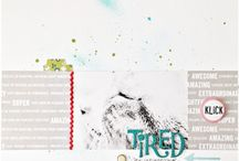 Scrapbooking Pages / Memory Keeping