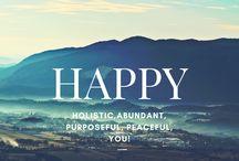 holistic hippie affirmations