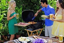 GARDEN - Party OUTDOORS / Living in Florida, our wonderful weather permits us to have outdoor gatherings.... BAR-B-Ques, Birthdays, Sports Gatherings, pit fire get togethers- name it, we love doing it, all OUTDOORS ~MHE / by Michelle Eliason